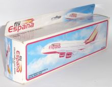 Airbus A380 Fly Espana Promotional Snap Fit Collectors Model Scale 1:250 p